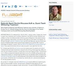 redondo beach dentist on kor vs zoom teeth whitening