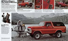 ford bronco ford bronco history the drive