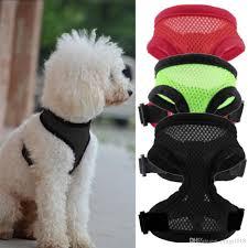 Comfortable Dog Collars 2017 Mesh Pet Dog Harness Puppy Comfort Harness Sports Dog Harness