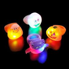 led light up rings led halloween rings light up assorted halloween rings led