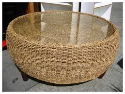Rattan And Glass Coffee Table by Awesome Wicker Coffee Table Images Furniture Traksa Modern