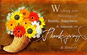 wishing you blessings of health happiness and success on