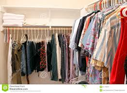 Clothes Closet Clothes In A Closet Royalty Free Stock Photography Image 27718047