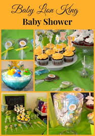 lion king baby shower by flour on my foodblogs