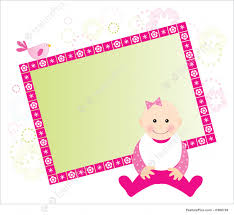 baby girl cards baby girl card illustration