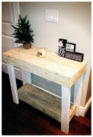 Hall Table Plans Hall Console Table Plans Striking 3154826957 1368644478 Ana White