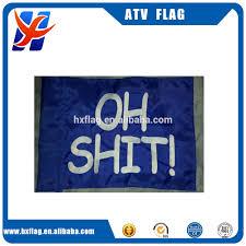 Whip Flag Custom Blank Triangle Safety Flag For Atv Utv Bike Dune Whip Pole