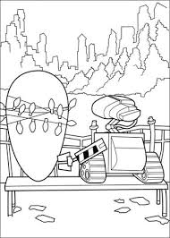 walle coloring pages wall e on the date coloring page free printable coloring pages