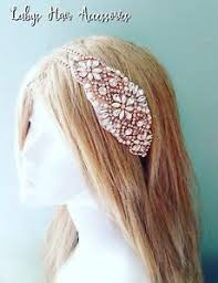 1950s headband gold pearl diamante bridal 1950s headband statement party