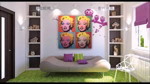 Pop Interior Design by Pop Art Decor Interior Design Youtube