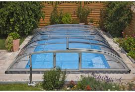 swimming pool enclosure low line elegant neo pl01
