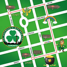 st patrick u0027s day parade in toronto 2017 route and road closures