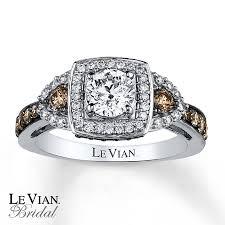 levian engagement rings le vian engagement ring 1 3 8 ct tw diamonds 14k vanilla gold