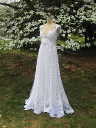 hippie wedding dresses hippie lace collage gown one of a boho wedding dress