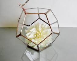 transparent planter etsy