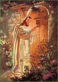 picture of jesus knocking at the door kids coloring europe