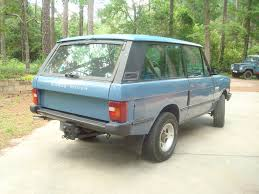 range rover pickup conversion sold 1988 range rover 2 door turbo diesel 5 speed with all manual