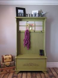 Hallway Shoe Cabinet by 10 Organized Hallways With Beautiful Coat Rack Bench Rilane