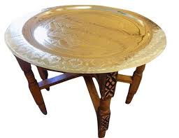 Brass Tray Table Tray Tables U2013 Moroccan Furniture Bazaar