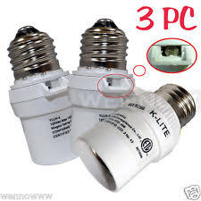 photocell sensor automatic light control switch dusk to dawn socket ebay