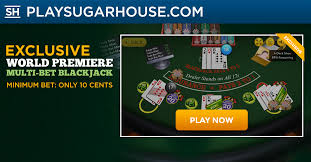 sugarhouse casino table minimums announcing the exclusive world premiere of multi bet blackjack on