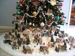mini village christmas trees u2013 halloween wizard