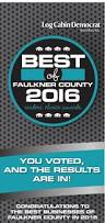 Banister Lieblong Best Of Faulkner County 06 2016 By Log Cabin Democrat Issuu