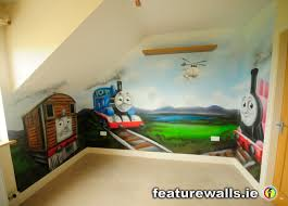 Thomas The Tank Room Decor by Murals For Boys Room This Hand Painted Thomas The Tank Engine