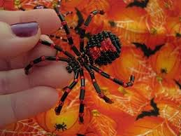 how to make a beaded spider spider tutorials and step by step