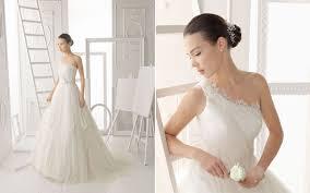 aire barcelona 2014 one shoulder soft tulle bridal dress recent