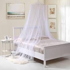 oasis round hoop sheer bed canopy walmart com