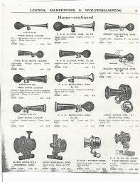 lucas altette originals only taff the horns vintage car horn