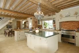 rustic open floor plans kitchen rustic open kitchen design with decorative chandelier