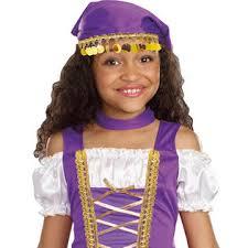 Gypsy Halloween Costumes Totally Ghoul Girls Gypsy Princess Halloween Costume