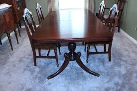 Mahogany Dining Room Furniture Antique Dining Room Set Appraisal Mahogany Chippendale Dining Room