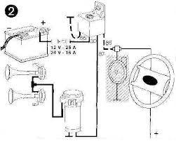 wiring diagram aftermarket car horns car horn circuit horn