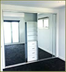 Closet Door Installation Mirrored Sliding Closet Doors Moutard Co