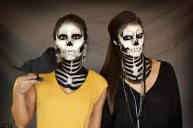 Halloween Skeleton Make Up by Halloween Lookbook Generation Bliss