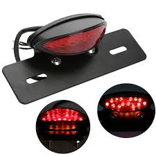 universal led tail lights universal motorcycle integrated tail light led rear brake stop l