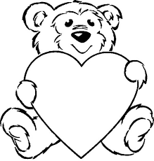 care teddy bear coloring color luna