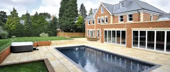 how to build a swimming pool in a garden