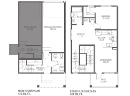 broadway new home floor plan altius townhomes streetside