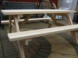 5ft Garden Bench 6 Seat Pub Garden Table Picnic Bench Picnic Benches Pub