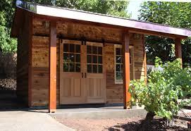 Cedar Barn Door Cedar Garden Shed Fine Homebuilding