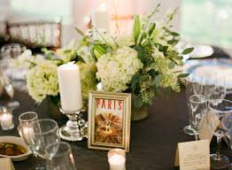 themed table numbers travel themed table numbers elizabeth designs the wedding