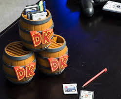amazon 2ds black friday donkey kong barrel game card storage nintendo 2ds video game