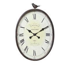creative clocks home decorators collection traits de plume 22 25 in h x 17 in w