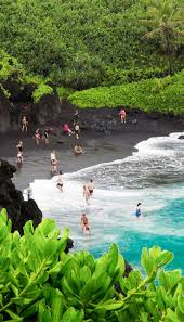Hawaii travel click images 27 of the most incredible places to visit in hawaii black sand jpg