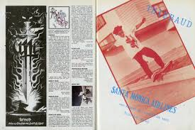 thanksgiving 1989 thrasher magazine april 1989
