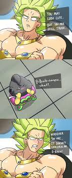 Broly Meme - tsundere broly team four star know your meme